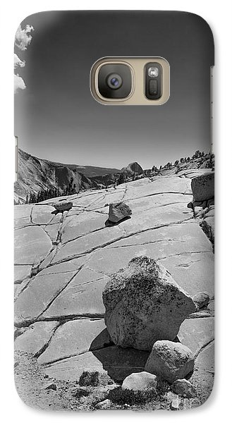 Galaxy Case featuring the photograph Half Dome From Olmsted Point by Terry Garvin
