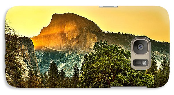 Featured Images Galaxy S7 Case - Half Dome Sunrise by Az Jackson