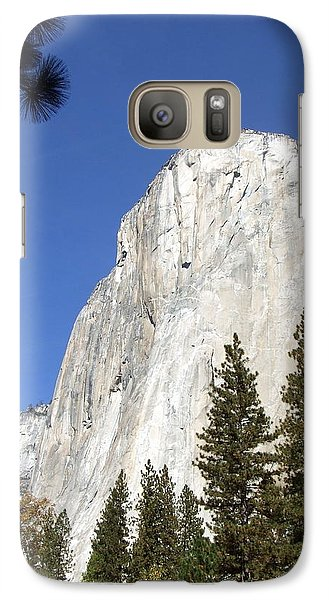 Galaxy Case featuring the photograph Half Dome Yosemite by Richard Reeve
