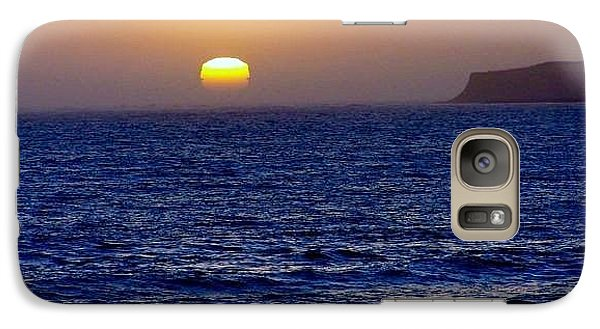 Galaxy Case featuring the photograph Half Moon Bay by Christine Drake