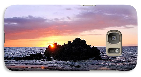 Galaxy Case featuring the photograph Hali A Aloha by Ellen Cotton