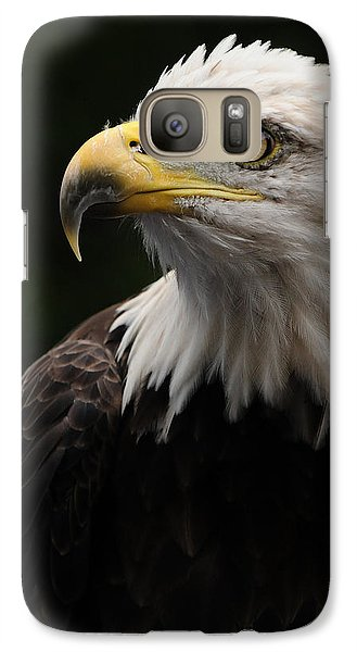Galaxy Case featuring the photograph Haliaeetus Laucocephalus by Mike Martin