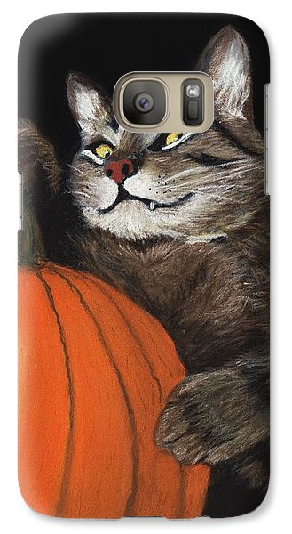 Halloween Cat Galaxy S7 Case