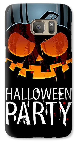Galaxy Case featuring the painting Halloween Party by Gianfranco Weiss