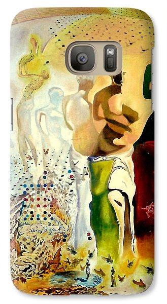 Galaxy Case featuring the painting Halucinogenic Toreador By Salvador Dali by Henryk Gorecki
