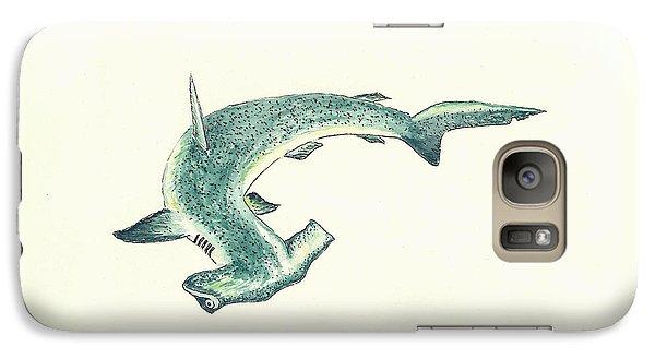 Nurse Shark Galaxy S7 Case - Hammerhead Shark by Michael Vigliotti