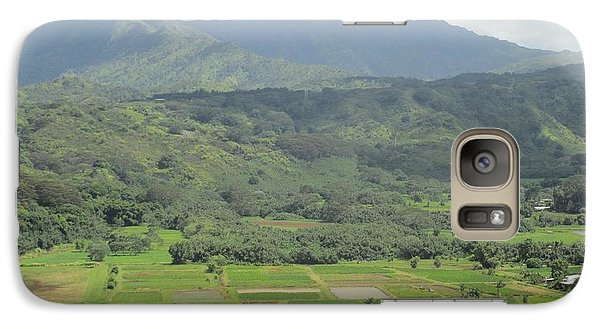 Galaxy Case featuring the photograph Hanalei by Alohi Fujimoto
