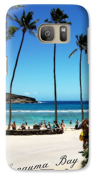 Galaxy Case featuring the photograph Hanauma Bay by Mindy Bench