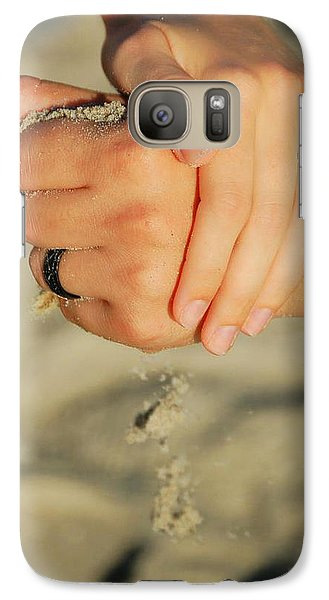 Galaxy Case featuring the photograph Hands Of Time by Leticia Latocki