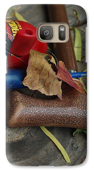 Galaxy Case featuring the photograph Handled With Care by Peter Piatt