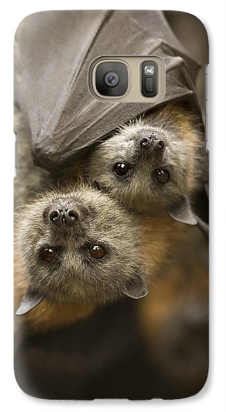 Hang In There Galaxy S7 Case by Mike  Dawson