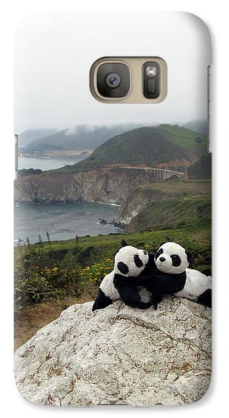 Galaxy Case featuring the photograph Hang On- You Got A Friend by Ausra Huntington nee Paulauskaite