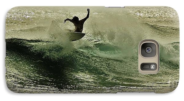 Galaxy Case featuring the photograph Hang Ten by Craig Wood