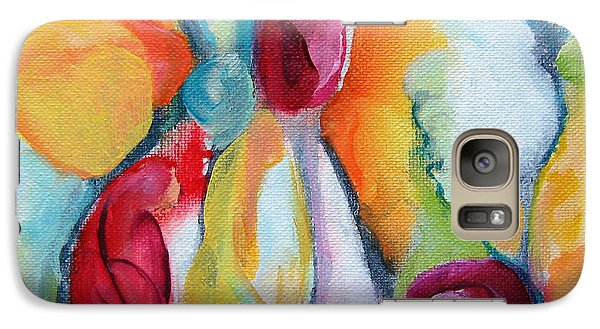 Galaxy Case featuring the painting Hanging Garden 102 by Elis Cooke