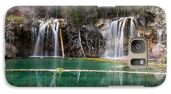 Galaxy Case featuring the photograph Hanging Lake by Jay Stockhaus