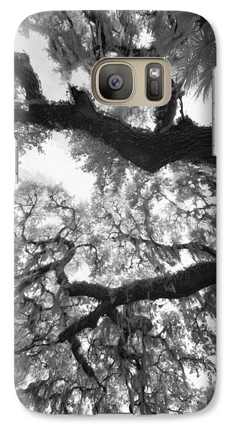 Galaxy Case featuring the photograph Hanging Moss by Bradley R Youngberg