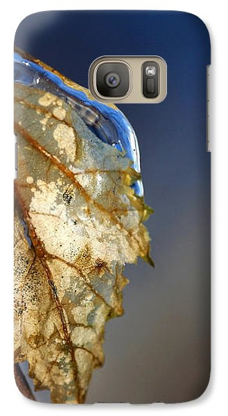 Galaxy Case featuring the photograph The Last Leaf  by Debbie Oppermann
