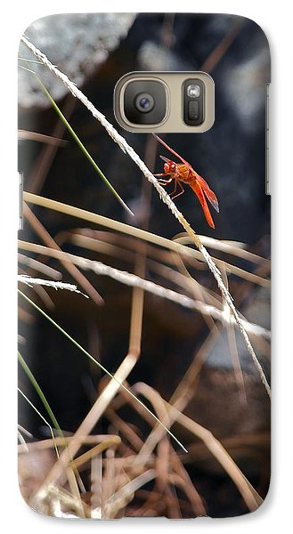 Galaxy Case featuring the photograph Hanging On by Michele Myers