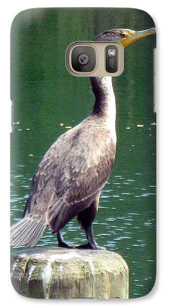 Galaxy Case featuring the photograph Hanging Out Lakeside by Wendy Coulson