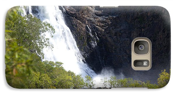 Galaxy Case featuring the photograph Hanging Valley Waterfall by Carole Hinding