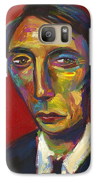 Galaxy Case featuring the digital art Hannibal The Cannibal by Robert Phelps