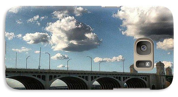 Galaxy Case featuring the photograph Hanover Street Bridge by Toni Martsoukos