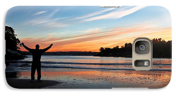 Galaxy Case featuring the photograph Happiness Can Be Simple by Miroslava Jurcik