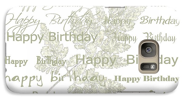 Galaxy Case featuring the photograph Happy Birthday Card by Sandra Foster