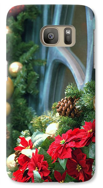 Galaxy Case featuring the photograph Happy Chirstmas by Rachel Mirror