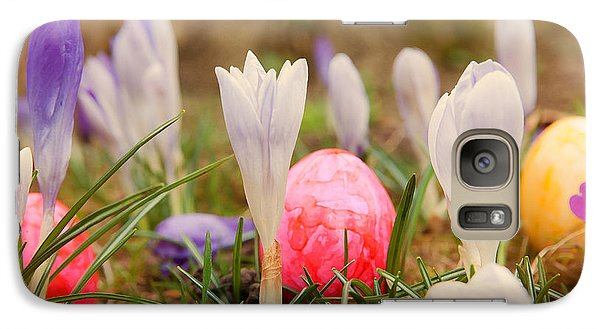Galaxy Case featuring the photograph Happy Easter 2 by Christine Sponchia