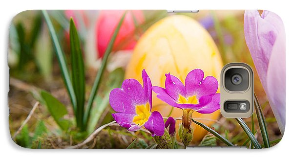 Galaxy Case featuring the photograph Happy Easter by Christine Sponchia