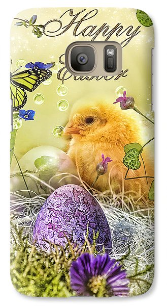 Mo Galaxy S7 Case - Happy Easter by Mo T