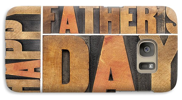 Galaxy Case featuring the photograph Happy Father Day by Marek Uliasz