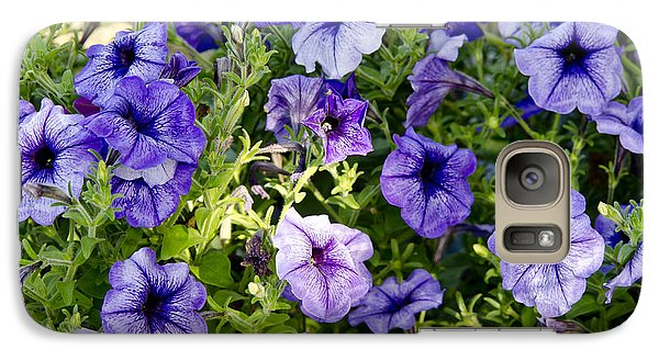 Galaxy Case featuring the photograph Happy Flowers by Wilma  Birdwell