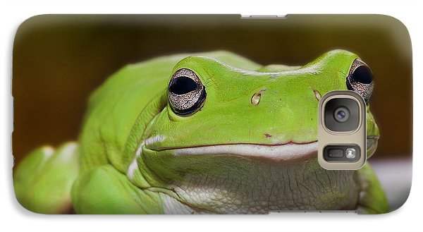 Galaxy Case featuring the digital art Happy Frog 0003 by Kevin Chippindall