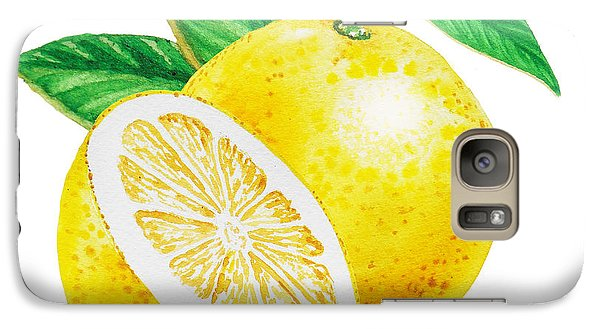 Happy Grapefruit- Irina Sztukowski Galaxy S7 Case
