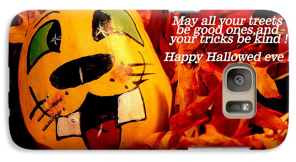 Galaxy Case featuring the photograph Happy Hallowed Eve by Gary Brandes