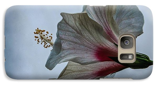 Galaxy Case featuring the photograph Happy Hibiscus At Biltmore Conservatory by Lori Miller