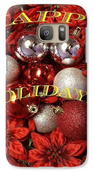 Galaxy Case featuring the photograph Happy Holidays by Gary Brandes
