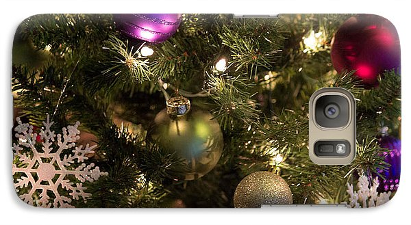 Galaxy Case featuring the photograph Happy Holidays by Patricia Babbitt