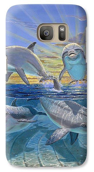 Happy Hour Re003 Galaxy S7 Case by Carey Chen