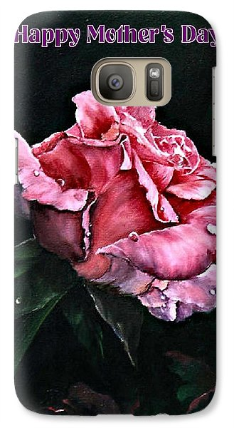 Galaxy Case featuring the painting Happy Mother's Day by Lynne Wright