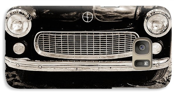 Galaxy Case featuring the photograph Happy Old Car by Arkady Kunysz