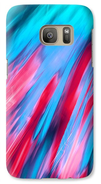 Galaxy Case featuring the photograph Happy Together Left Side by Dazzle Zazz