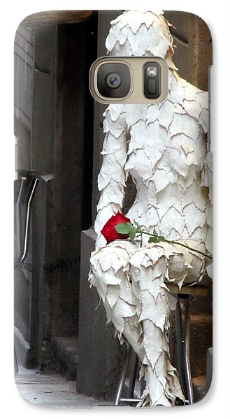 Galaxy Case featuring the photograph Happy Valentines Day by Jennifer Wheatley Wolf