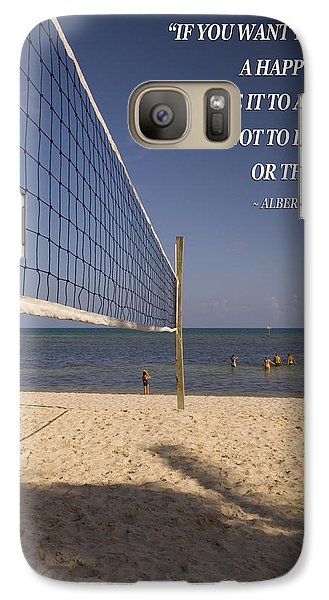 Galaxy Case featuring the photograph Happy Volleyball Goal by Bob Pardue