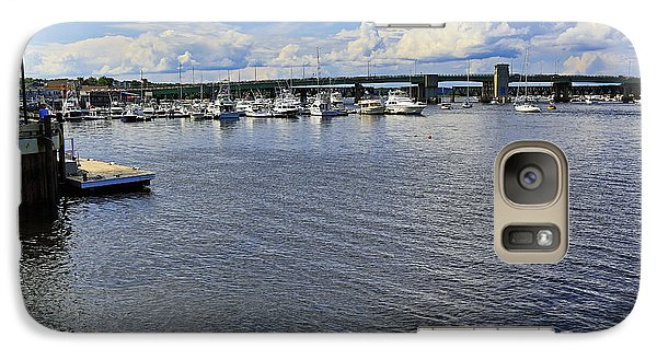 Galaxy Case featuring the photograph Harbor At Newburyport Ma 3 by John Hoey