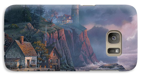 Harbor Light Hideaway Galaxy S7 Case by Michael Humphries