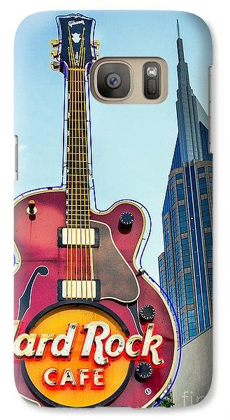 Hard Rock Cafe Nashville Galaxy S7 Case
