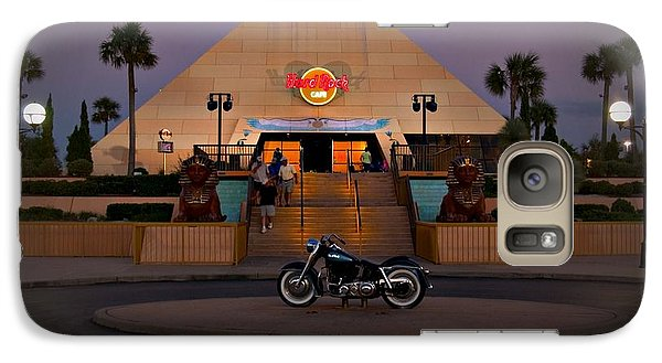 Galaxy Case featuring the photograph Hard Rock Myrtle Beach by Bob Pardue